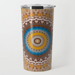 New Color Pyramidal Mandala 51 Travel Mug