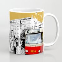 street Mugs featuring street by My Studio