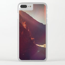 The Troubled Road Clear iPhone Case