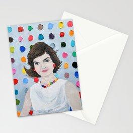 Polka Daub Jackie O Stationery Cards