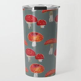 Mushrooms Pattern  Travel Mug
