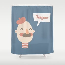 Frenchman Shower Curtain