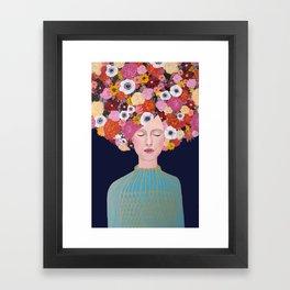 Céleste Framed Art Print