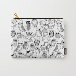 Funny owls Carry-All Pouch