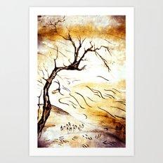 landscape Blossom Art Print