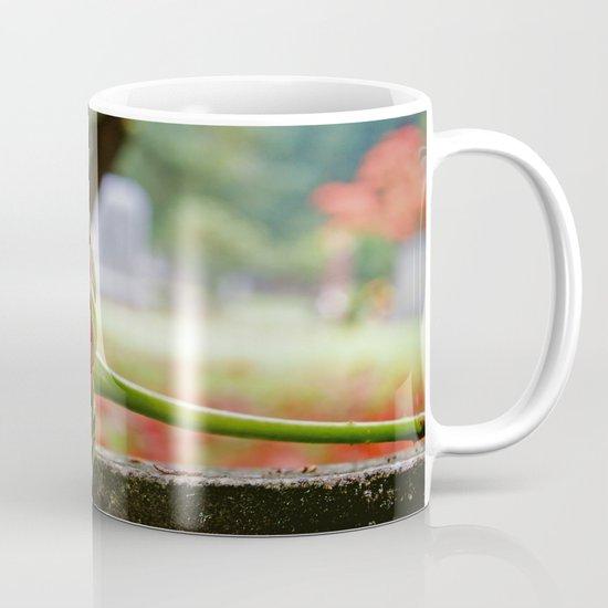 Cemetery rose Mug