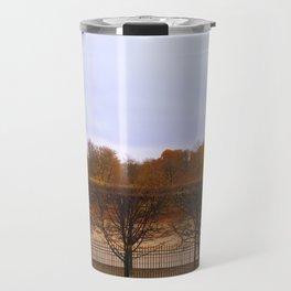 Autumn in the city Travel Mug