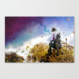 The Uninspired Canvas Print