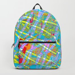 Road Map Backpack