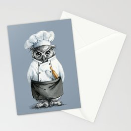 Baker Owl Stationery Cards