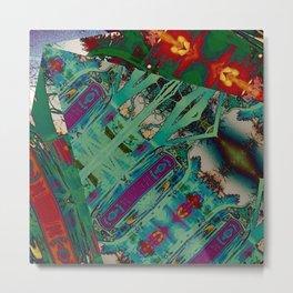 Bombay Remix Metal Print
