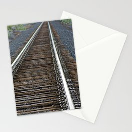 On The Tracks Stationery Cards