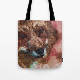 Philosophical Fox Tote Bag