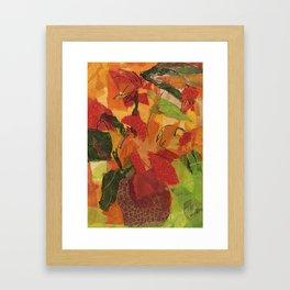 Wild Sunflowers Framed Art Print