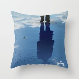 Reflection of My Past Throw Pillow