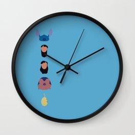 Lilo & Stitch Wall Clock