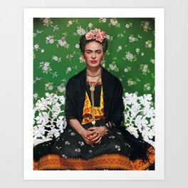 Frida Kahlo Photography I Art Print