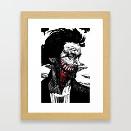 You Say, I Say, They Say Framed Art Print