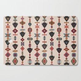 American Prairie Ethnic Tribal Seamless Pattern Cutting Board