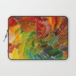 Upright Stained Twist Laptop Sleeve