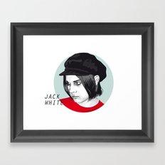JACK WHITE Framed Art Print
