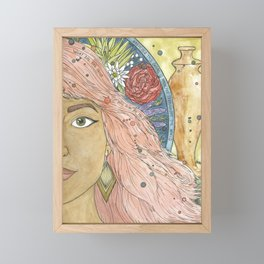 Mary of Bethany Framed Mini Art Print