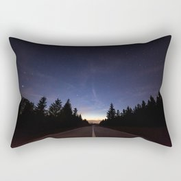 Night Heading Our Way Rectangular Pillow