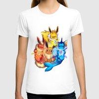 eevee T-shirts featuring EEVEE by Rosie