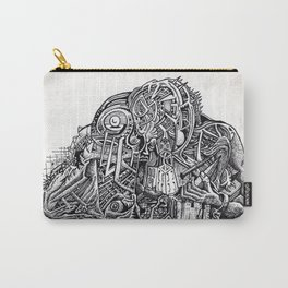 Psycho Warrior, by Brian Benson Carry-All Pouch