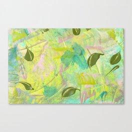 Leafy Breeze Canvas Print