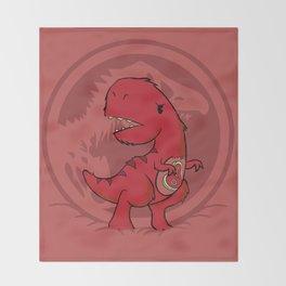 C-Rex Throw Blanket