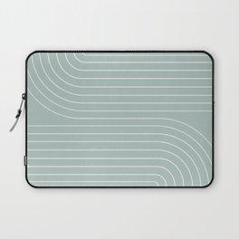 Minimal Line Curvature VII Laptop Sleeve