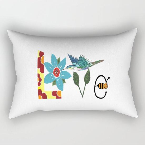 L Is For Love Rectangular Pillow