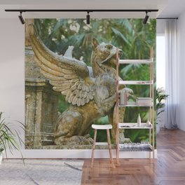 Winged lion Wall Mural