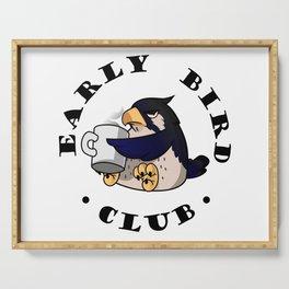 Early Bird Club Serving Tray