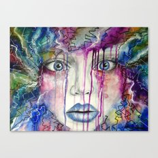 Drowning in Colour Canvas Print