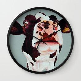 Cow Margot Wall Clock