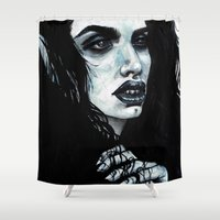 marceline Shower Curtains featuring Marceline by .Esz