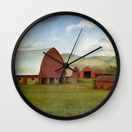 Wartburg Barns Wall Clock