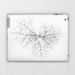 Heart in snow Laptop & iPad Skin