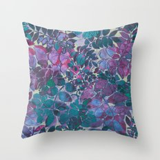 Love of Leaves 2 Throw Pillow