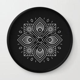 Mandala XLIII Wall Clock