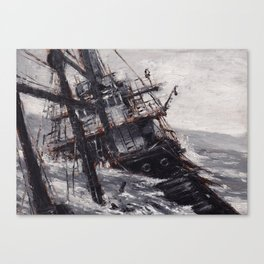 All Hands On Deck Canvas Print