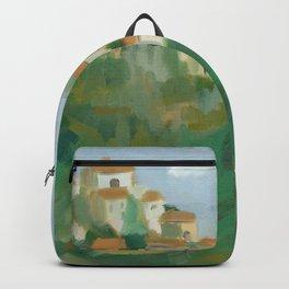 Gordes, France Backpack