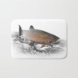 Migrating Steelhead Trout Bath Mat