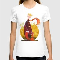 le petit prince T-shirts featuring Le Petit Prince by Federica Fabbian