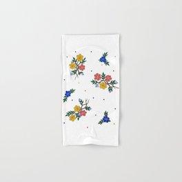 Flowers in Design Hand & Bath Towel