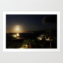 Light Invades Night Art Print