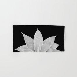 Gray Agave on Black #2 #tropical #decor #art #society6 Hand & Bath Towel