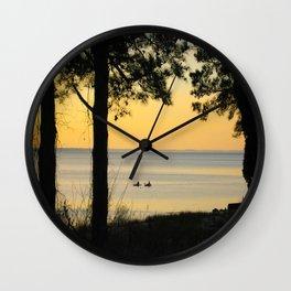 Go Kayaking Wall Clock